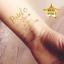 Custom-Bachelorette-Party-Golden-Tattoos-Hen-night-temp-tattoos-Team-Bride-Hen thumbnail 2