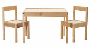 Ikea Lätt Tavolo per Bambini Set con 2 Sedie Pino Mobili Arredamento ...