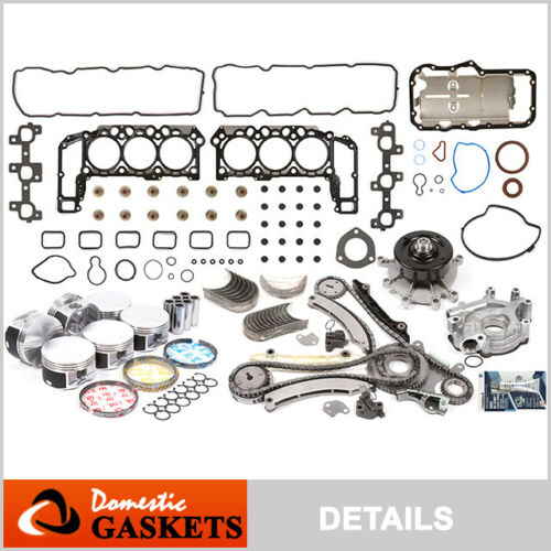 "0512 Jeep Liberty Dodge Ram Durango Dakota 3.7L SOHC Engine Rebuilding Kit ""K"""