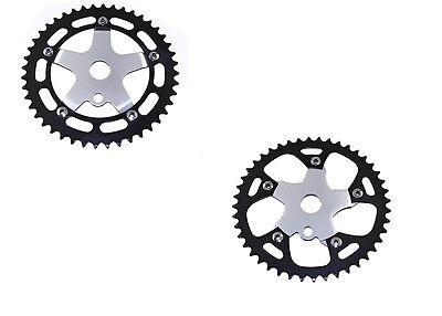 "NEW Bicycle ALLOY Sprocket 44T 1//2/""x1//8  Chainring BMX Cruiser Bike     4 Colors"