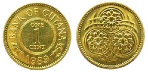 Guyana 1989 1 Cent Uncirculated KM31