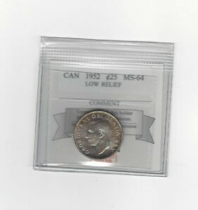 1952-LR-Coin-Mart-Graded-Canadian-25-Cent-MS-64