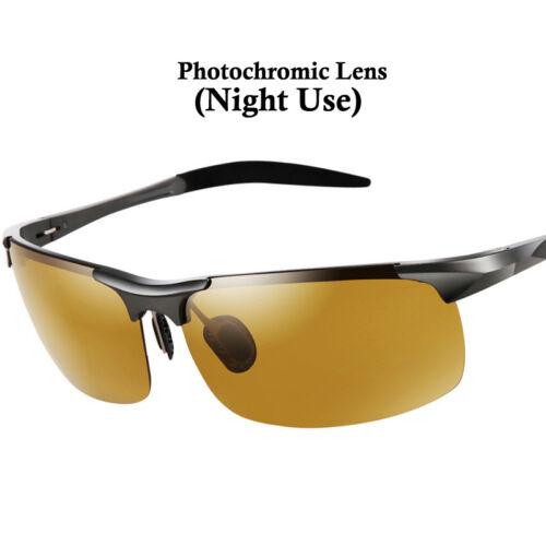 Gafas de Sol Polarizadas Fotocromáticas Noche Día Pesca Conducir con Seguridad