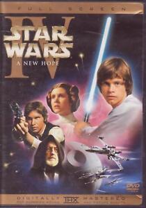 DVD-STAR-WARS-EPISODE-IV-A-NEW-HOPE-Fullscreen-FS-Harrison-Ford-Mark-Hamill