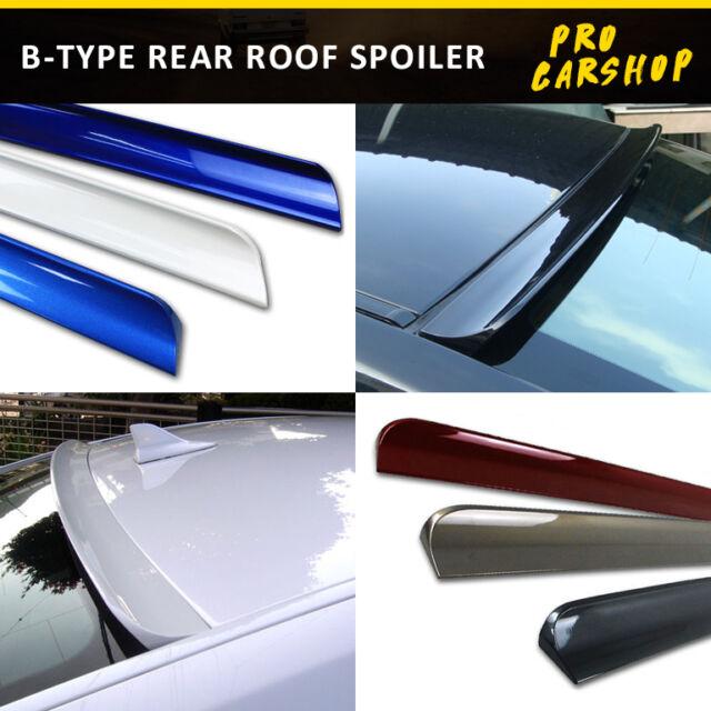 09-12 For ACURA TSX CU2 4D Sedan B Style Rear Roof Spoiler