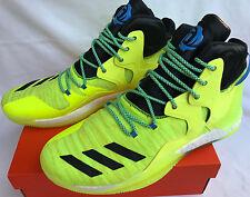 best service 2e647 06647 Adidas D Rose 7 Boost Primeknit AQ7215 Derrick Solar Basketball Shoes Mens  15