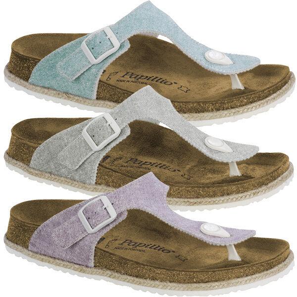 Birkenstock Birko-flor Papillio Gizeh Birko-flor Birkenstock Zapatos señora tira dedo Beach sandalia 0e2823