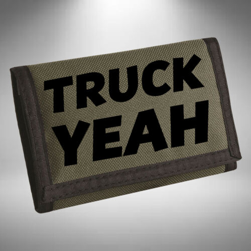 Truck Yeah Wallet Purse Funny Lorry Scania V8 Truck Driver Man Magnum Volvo