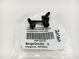 0081050181 NEW GENUINE KTM SCREW FOR PLASTIC K50X18