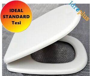 Sedile Tesi Ideal Standard Bianco Europa.Sedile Plus Copri Wc Tesi Ceramica Ideal Standard Anima In Legno