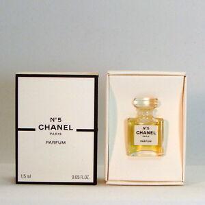 Chanel No 5 Parfum 15 Ml 005 Floz Micro Mini Parfum New In Box
