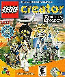Lego-Creator-KNIGHTS-KINGDOM-Imagination-Classic-for-Windows-PC-Game-CDrom-NEW