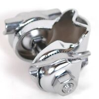 Steel Single Rail Saddle Clamp - compatible with Brooks - silver or black