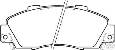 HONDA PRELUDE 2.2 VTEC  BB8 BRAKE DISCS /&PADS 5ST FR