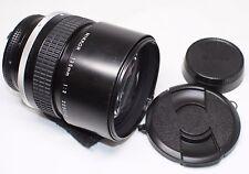 READ! Nikon Nikkor 135mm F/2 Ai-S MF Lens Made In Japan