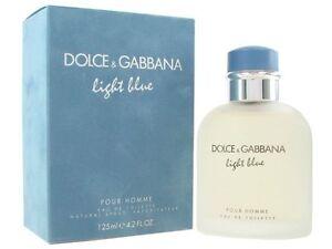 55ccafd2f3b Dolce   Gabbana Light Blue 4.2oz 125ml Men s Cologne Eau De Toilette ...