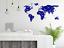 World Map Geometric Modern Style Wall Art Decal Sticker Transfer O100