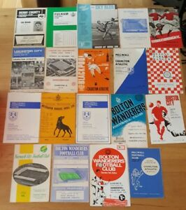 19-Different-1960s-Charlton-Athletic-Away-Programmes-Bulk-714