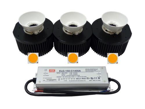 MeanWell pilote Dissipateur de chaleur 150 W CREE CXB 3590 Set accessoires réflecteur
