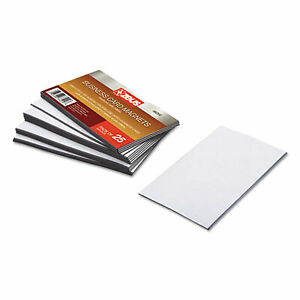 Business-Card-Magnets-3-1-2-x-2-White-Adhesive-Coated-25-Pack-66200-66200