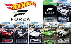 HOT-WHEELS-Forza-Motorsport-Diecast-Set-collezione-in-metallo-MACCHININE-SCALA-1-64