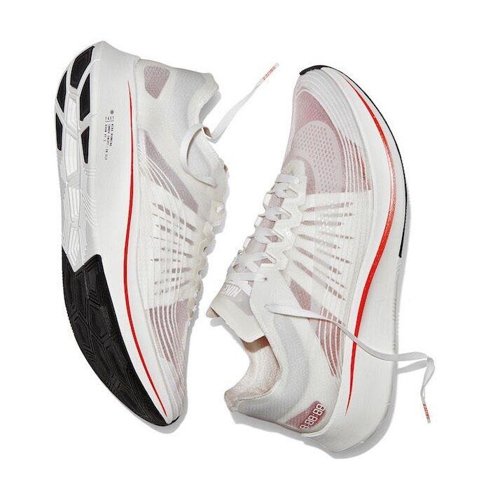 2018 NikeLab Zoom Fly SP 'Breaking2' White Sz 6.5 - AA3172 100