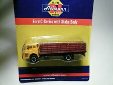 "Athearn ""N"" Preston Ford 'C' Series Stake Bed Truck 1:160 (2 PHOTOS)- FAST SHIP!"