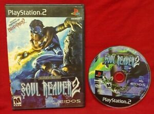 Soul-Reaver-2-PS2-Playstation-2-Rare-Game-Tested-Works-1-Owner
