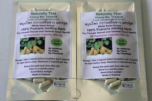 Organic-Pueraria-mirifica-350mg-120-Capsules-White-Kwao-Krua-Bio