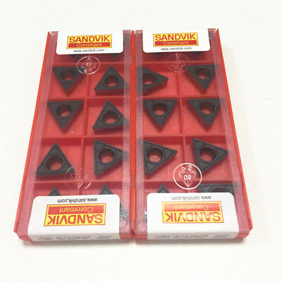 2.5 Sandvik 10Pcs TCMT16T308-PM 2 4315 CNC Carbide Turning Inserts TCMT3