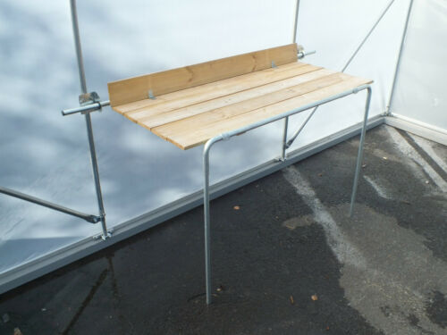 polytunnel potting bench multi purpose staging 4ft x 2ft  garden greenhouse