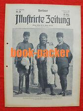 BERLINER ILLUSTRIRTE ZEITUNG 1916 Nr. 6: Hygiene im Felde