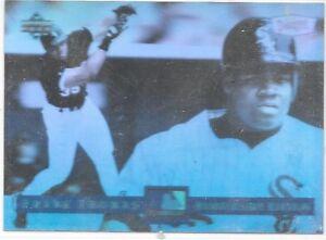 Details About Frank Thomas 1994 Upper Deck Dennys 125th Anniversary Hologram Baseball Card