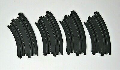 "6/"" Radius Aurora AFX Tomy 4 Lot of 4 1//8 Circle Curve Track"