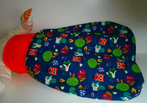 ♥Pucksack♥Eulen♥Schlafsack♥Strampelsack♥Baby♥0-2 Jahre♥Handmade♥Mädchen♥Jungen♥