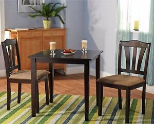 Small kitchen table sets nook dining and chairs 2 bistro for Outdoor dining sets for small spaces