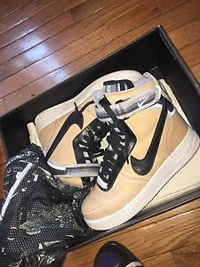 purchase cheap bd5c9 39e2d Image is loading Riccardo-Tisci-x-Nike-Air-Force-1-high-