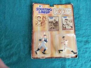 1989 BABE RUTH LOU GEHRIG NY YANKEES Starting Lineup Baseball Greats Figures