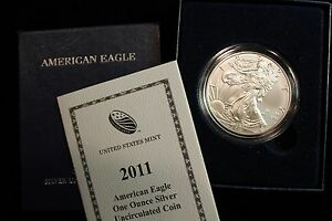 2011 American Eagle One Ounce Silver Uncirculated