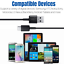 miniature 12 - Lots of 10 USB C Type C Cable For Samsung S20 S10 Charger LG Charging Cord Bulk