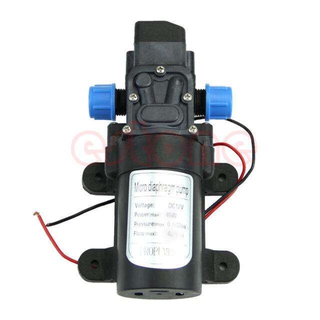 DC 12V 30W 0142 Motor High Pressure Diaphragm Water Self Priming Pump 3L/Min