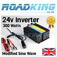 24v 300w Inverter Modified Sine Wave | 24 Volt 300 Watts Truck Voltage Converter
