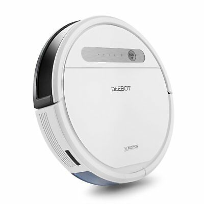 Ecovacs DEEBOT OZMO 610 Robotic Smart Vacuum Cleaner and Mop Combination, White