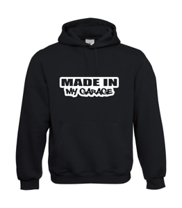 Made-in-My-Garage-Screw-We-I-Patter-I-Fun-I-Funny-to-5XL-I-Men-039-s-Hoodie