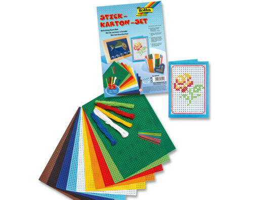 25 Piece Embroidery Cross Stitch Kids Craft SetSewing for Kids