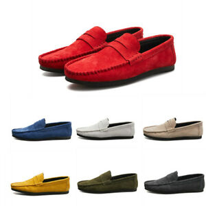 chic mens moccasins gommino casual loafers flat driving