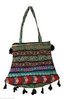 INDIAN HANDMADE BANJARA HANDBAG EMBROIDERED WOMEN SHOULDER BAG NEW FOR SALE