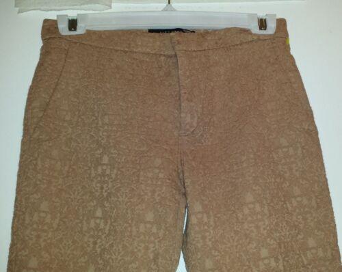 Made a Morocco gamba Pantalone con Zara in stretta Xs stampa taglia qSWw8R