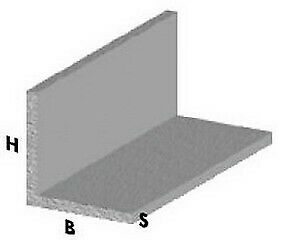 Charmant Profilo Angolare Cm 100 H Cromato 30x30x1 Mm Profili Alluminio Asta