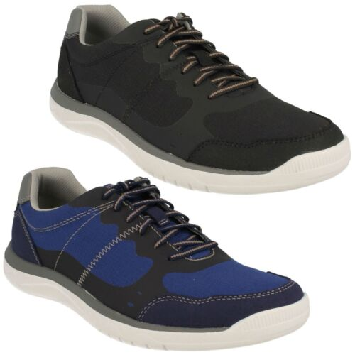 VOTTA EDGE MENS CLARKS LACE UP CLOUD STEPPERS SPORTS TRAINERS CASUAL SHOES SIZE